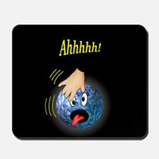 Frantic Bowling Ball Mousepad