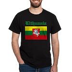Lithuanian Flag Black T-Shirt