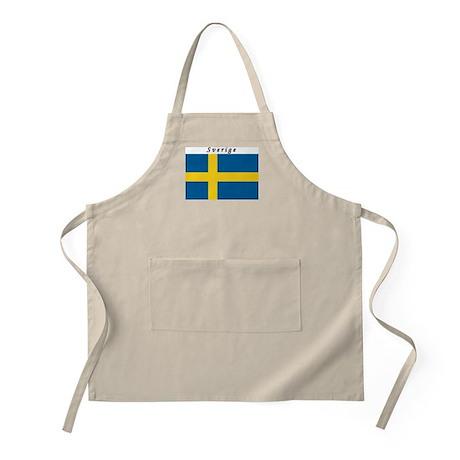 Swedish Flag BBQ Apron