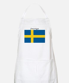Swedish Flag BBQ Apron