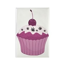 Mary Jane's Pink Cupcake Rectangle Magnet