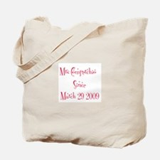 Mrs Comperchio Since Marc Tote Bag