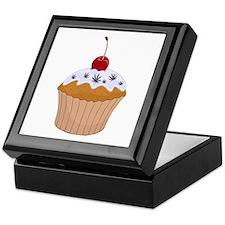 Mary Jane's Cupcake (Color) Keepsake Box