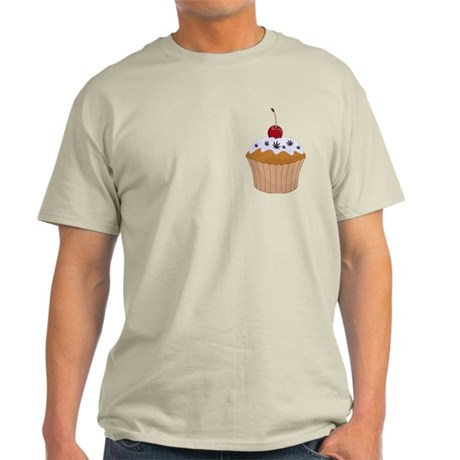 Mary Jane's Cupcake (Color) Light T-Shirt