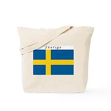 Swedish Flag Tote Bag