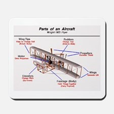 1903 Wright Flyer Parts Mousepad