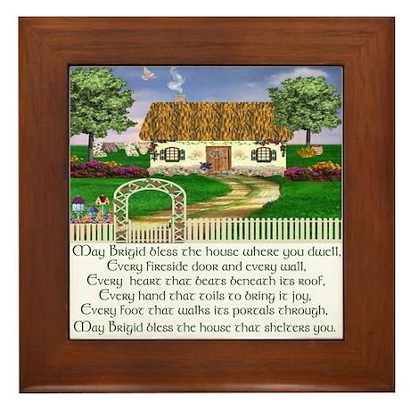 irish house blessing framed tile by irishcountry