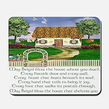 Irish House Blessing Mousepad