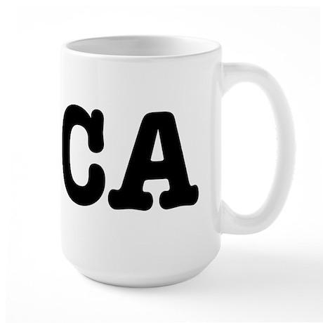 I Love CA Large Mug