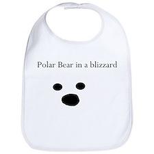 Polar Bear in a blizzard Bib