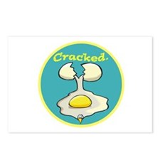 Cracked (Egg) Postcards (Package of 8)