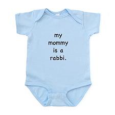 My mommy is a rabbi Infant Bodysuit