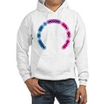 Bisexual Morse Arc Hooded Sweatshirt