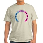Bisexual Morse Arc Light T-Shirt