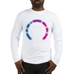 Bisexual Morse Arc Long Sleeve T-Shirt