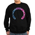 Bisexual Morse Arc Sweatshirt (dark)