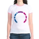 Bisexual Morse Arc Jr. Ringer T-Shirt