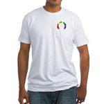 Gay Pocket Morse Fitted T-Shirt