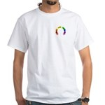 Gay Pocket Morse White T-Shirt