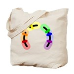 Gay Morse Arc Tote Bag