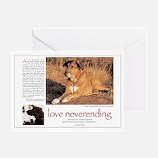 Love Neverending Dog Sympathy Card