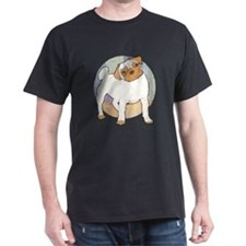 Pug Moment Black T-Shirt