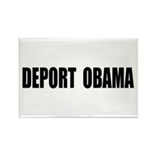 Deport Obama Rectangle Magnet