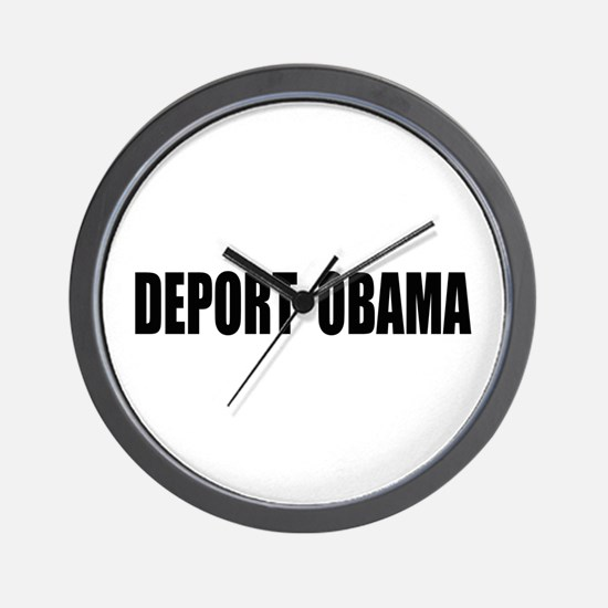 Deport Obama Wall Clock