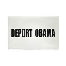 Deport Obama Rectangle Magnet (10 pack)