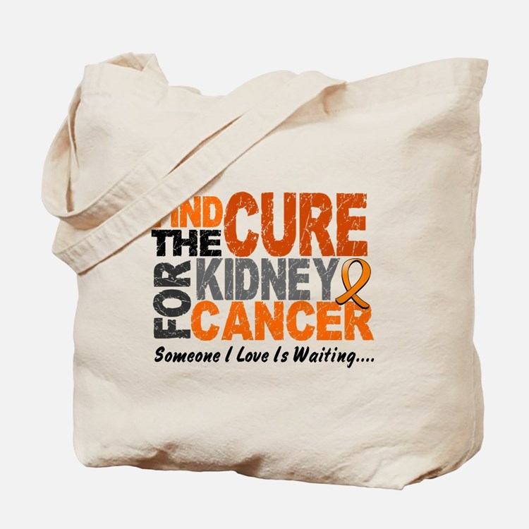 Find The Cure 1 KIDNEY CANCER Tote Bag