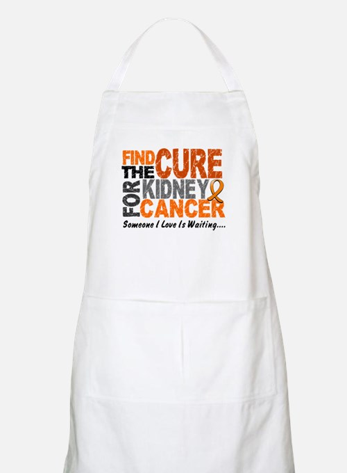 Find The Cure 1 KIDNEY CANCER BBQ Apron