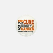 Find The Cure 1 KIDNEY CANCER Mini Button (10 pack