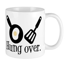 Hung Over Fried Egg Mug