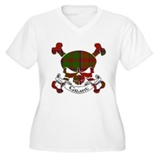 Grant Tartan Skul T-Shirt