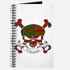 Grant Tartan Skull Journal