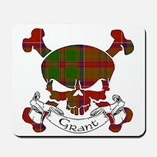 Grant Tartan Skull Mousepad