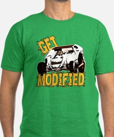 Get Modified Men's Fitted T-Shirt (dark)
