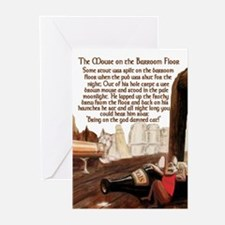 Mouse on the Pub Floor Greeting Cards (Pk of 20)