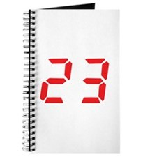 23 twenty-three red alarm clo Journal