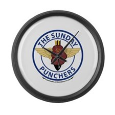 VA-75 Sunday Punchers Large Wall Clock
