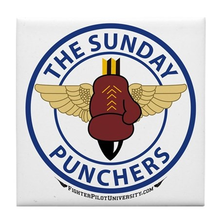 VA-75 Sunday Punchers Tile Coaster