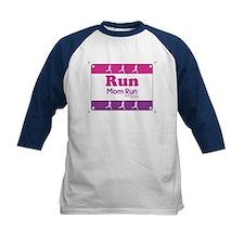 Race Bib Run Mom Tee