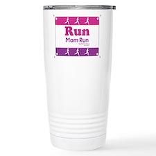 Race Bib Run Mom Travel Mug