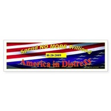 SpendingBumper Bumper Sticker