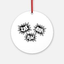 Comic Sound FX - Black & White - Ornament (Round)