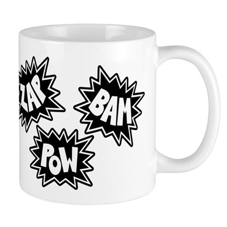 Comic Sound FX - Black & White - Mug