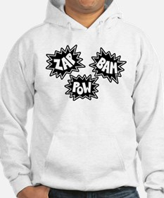 Comic Sound FX - Black & White - Hoodie