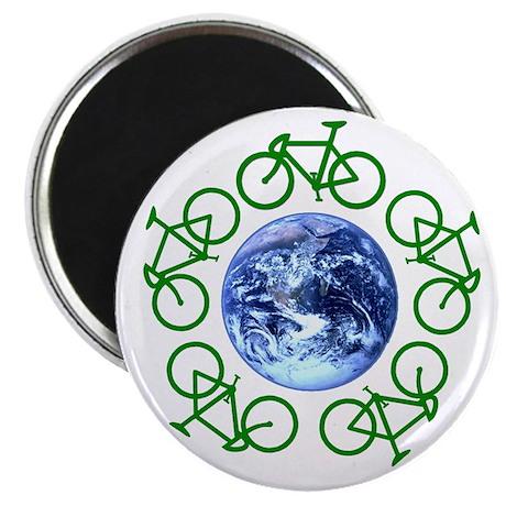 Bicycles Around the Globe Magnet