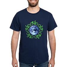 Bicycles Around the Globe T-Shirt