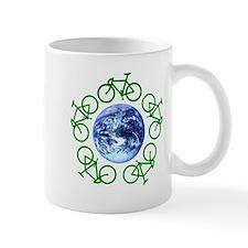Bicycles Around the Globe Mug